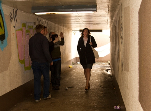 Directing the Subway scene 2